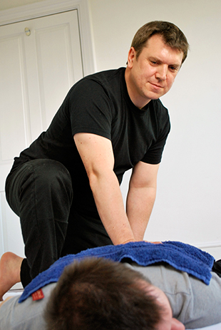 Tony Austin Shiatsu London - Back