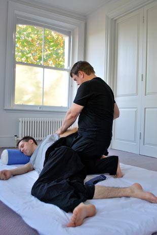 Flexibility in the arms - The benefits of Shiatsu - Tony Austin Shiatsu London